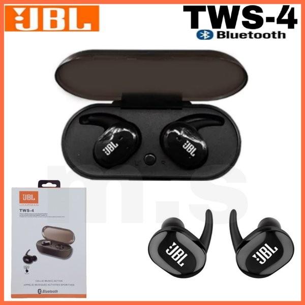 Jual Headset Bluetooth Jbl Tws 4 Original 5 Jakarta Barat Jack Mart01 Tokopedia