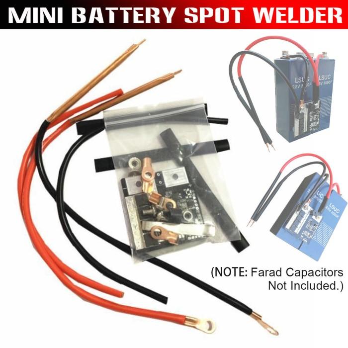 Jual Nl Mini Circuit Board Spot Welder 18650 Battery Box Assembly Jakarta Barat Nataliem Tokopedia