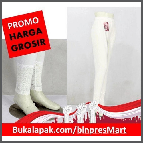 Jual Daleman Gamis Legging Renda Putih Terlaris Kota Surabaya Toserba Ibrahim Bangkit Tokopedia
