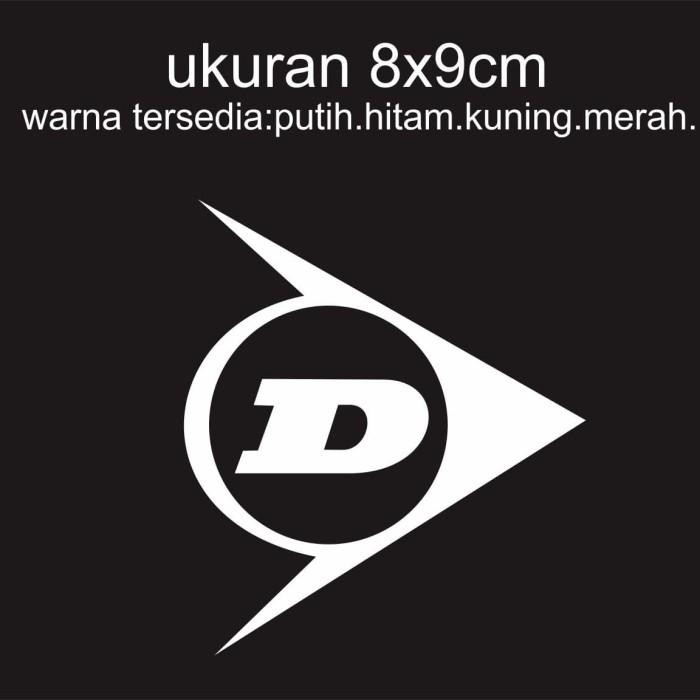 Jual Cutting Sticker Motor Logo Dunlop Putih Kab Tangerang Sticker Online Tokopedia