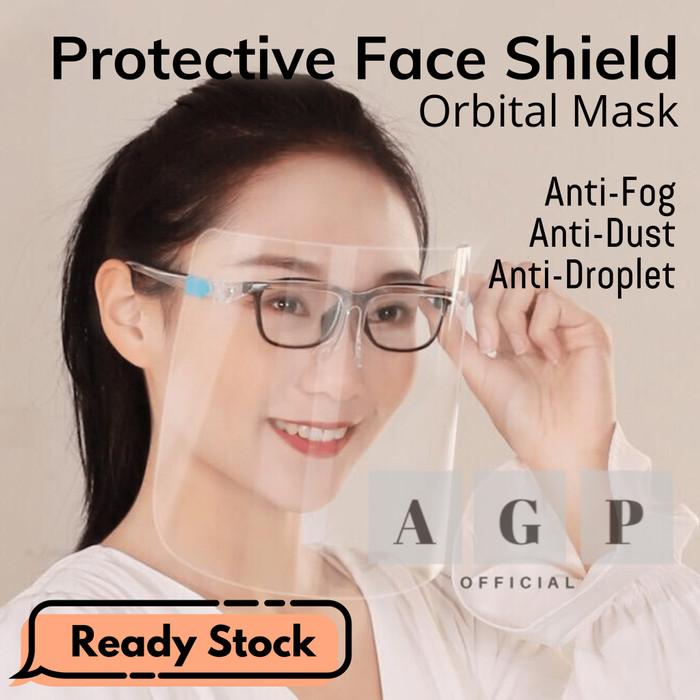 Foto Produk Face Shield Kacamata - Face Shield Nagita - Faceshield Kacamata dari AGP Official
