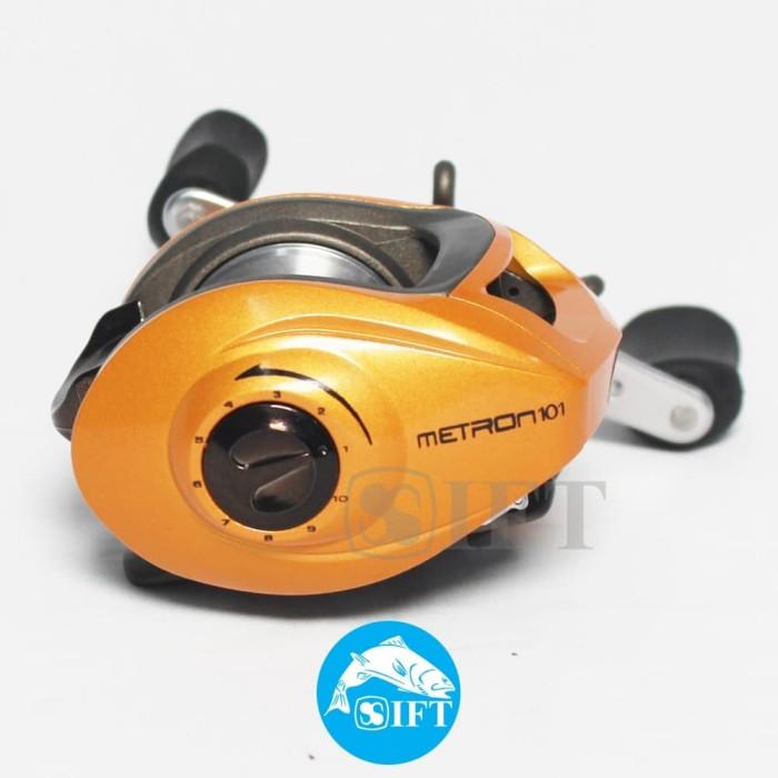 Foto Produk MAGURO METRON 101   Reel baitcast BC - left handle murah tangguh dari IFT Merchandise