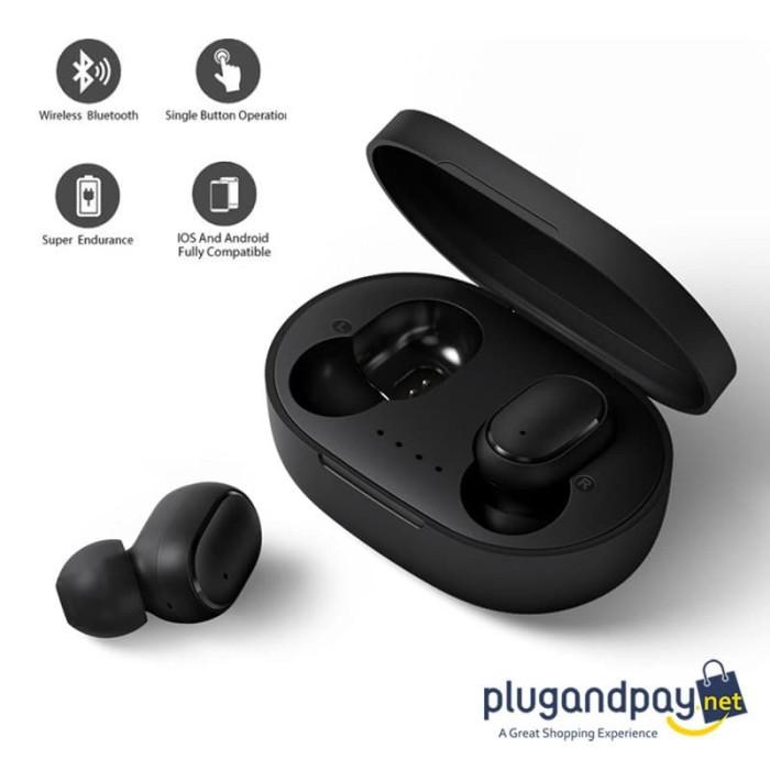 Foto Produk TWS Sport Earphone True Wireless Bluetooth 5.0 with Charging Dock dari plugandpay