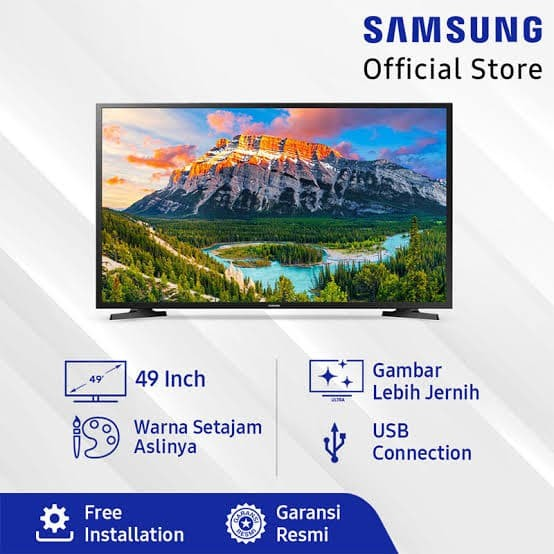 "Foto Produk TV LED FULL HD 49"" SAMSUNG UA49N5000 dari Federal Electronic"