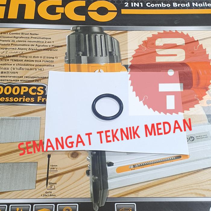 Foto Produk SPAREPART KARET O RING PISTON AIR NAILER STAPLES ANGIN INGCO GA18 dari Semangat Teknik