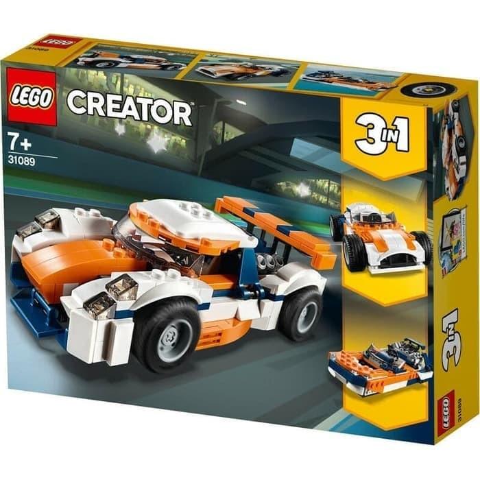 Jual Lego Creator 3 In 1 31089 Sunset Track Race Jakarta Selatan Toys City Tokopedia