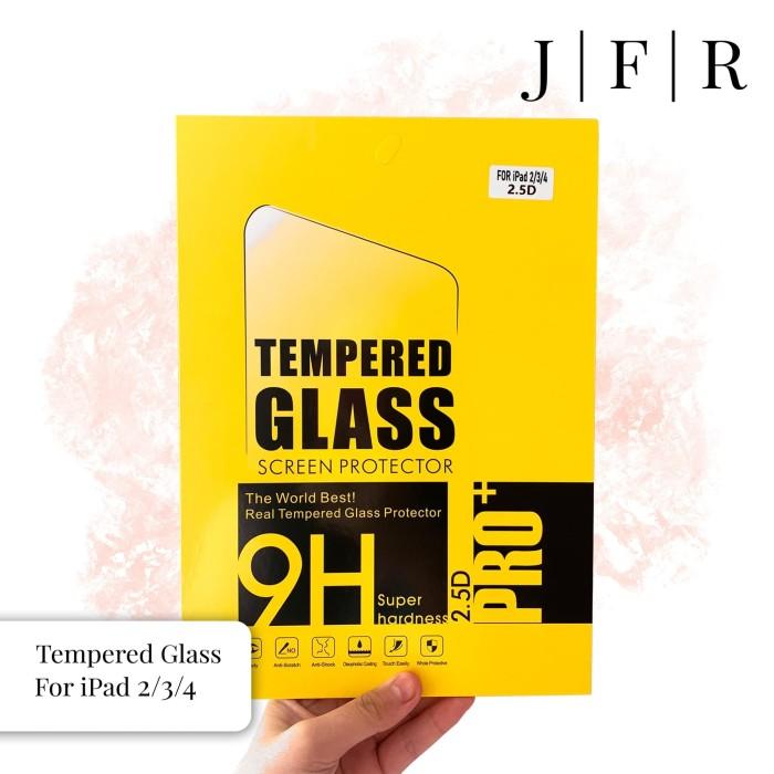 Foto Produk Tempered Glass iPad 2 3 4 Screen Protector iPad 2/3/4 Screen Guard dari JFR Official Store