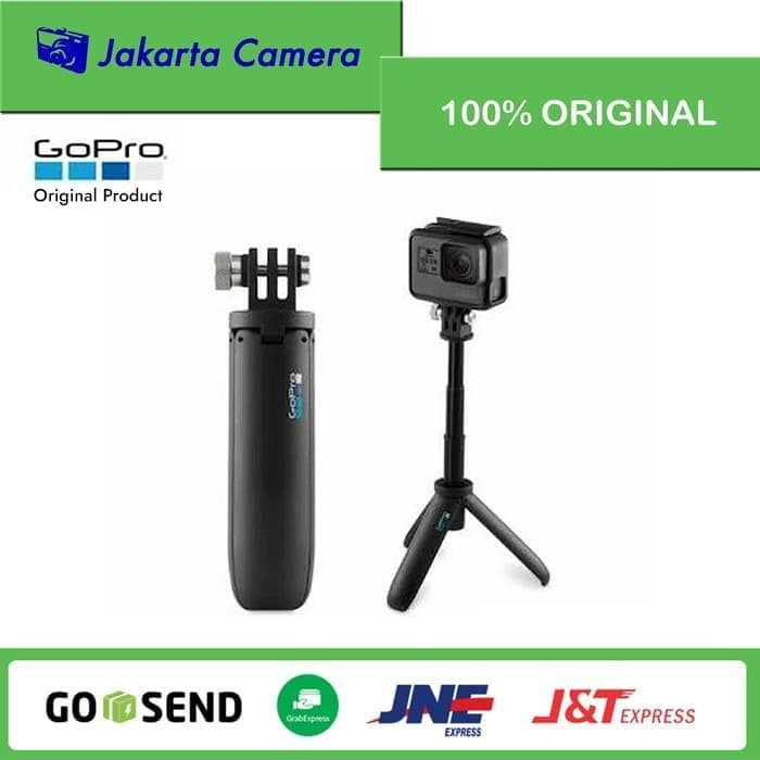 Foto Produk GoPro Shorty Extension Pole Mini Tripod Selfie Stick Original Gopro dari JakartaCamera