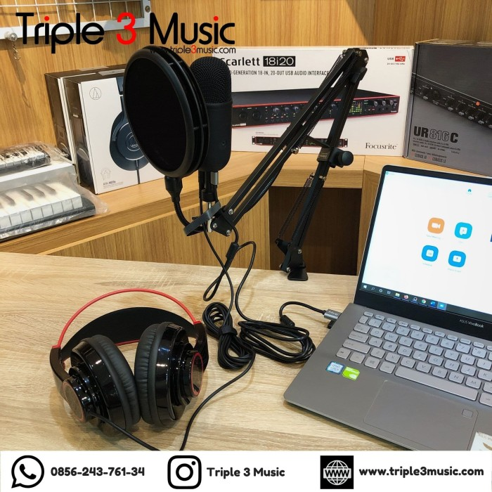 Foto Produk Fifine K678 Podcasting Pack with Alctron dari triple3music