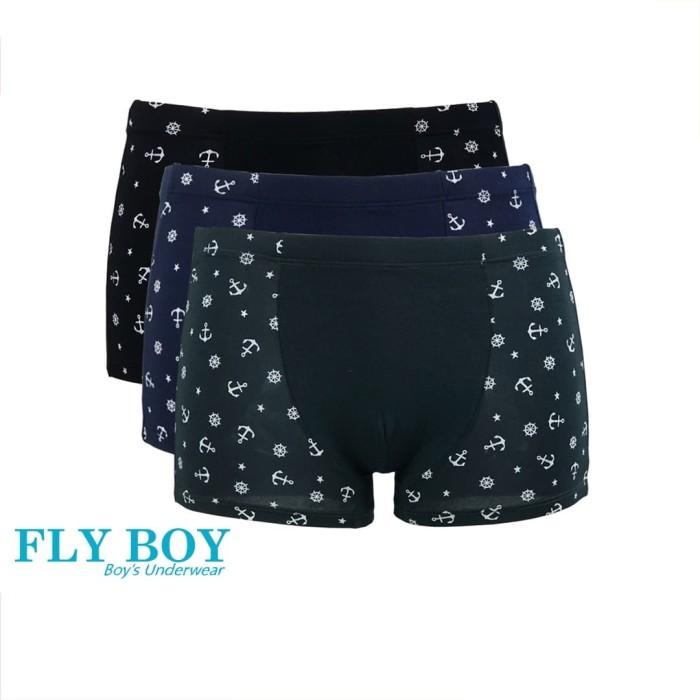 Foto Produk Fly Boys Anchor Boxer Anak FBC 3180 - Multi Colour - M dari Nathalie Kids