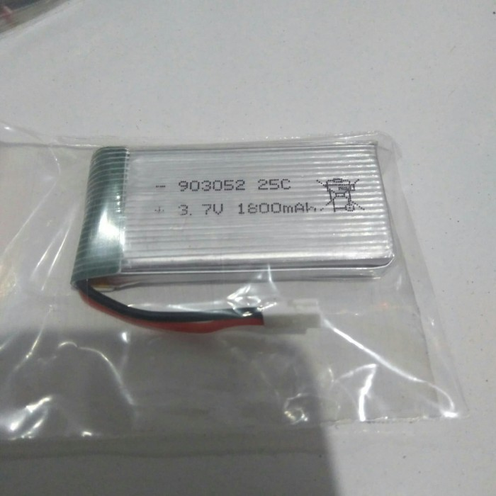 Foto Produk Baterai LiPo 1S 1800MAh Jst Losi untuk Hj28 dll - Murah dari Lydia Shop Happy Shoping