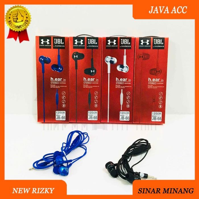 Muñeco de peluche Oxidar Regularidad  Jual HEADSET JB66 BY HARMAN UNDER ARMOUR EARPHONE HANDSFREE HANDPHONE JB-66  - Jakarta Barat - New Rizky | Tokopedia