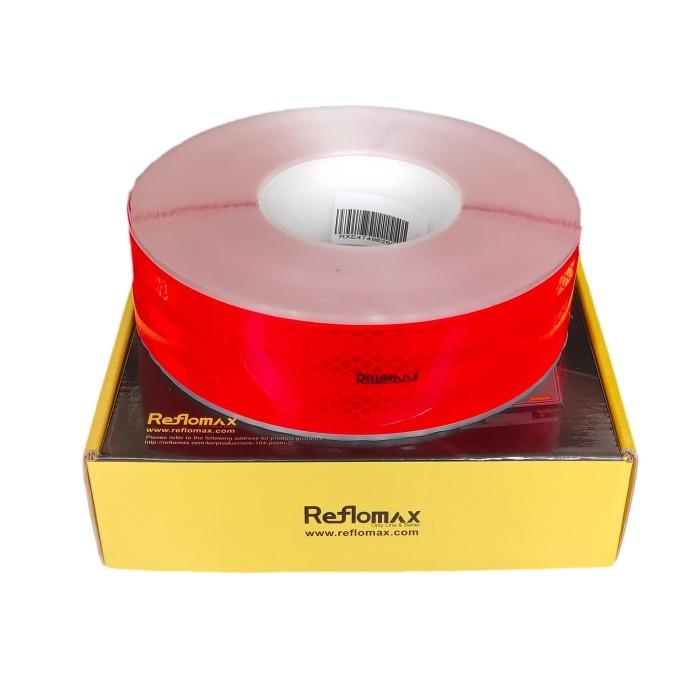 Foto Produk Stiker Pemantul Cahaya Reflomax Glodian™ ECE-104 - Red - Merah dari Teqnom Official Store