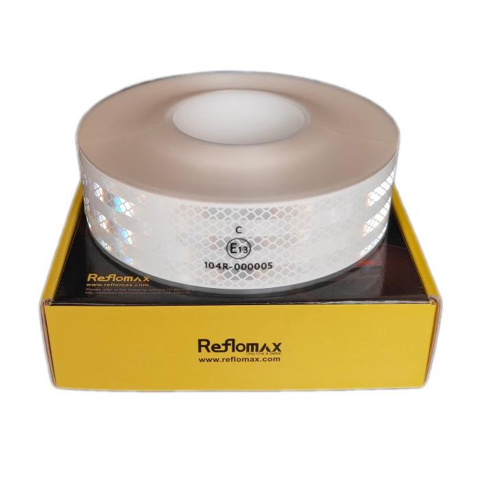 Foto Produk Stiker Pemantul Cahaya Reflomax Glodian™ ECE-104 - White - Putih dari Teqnom Official Store