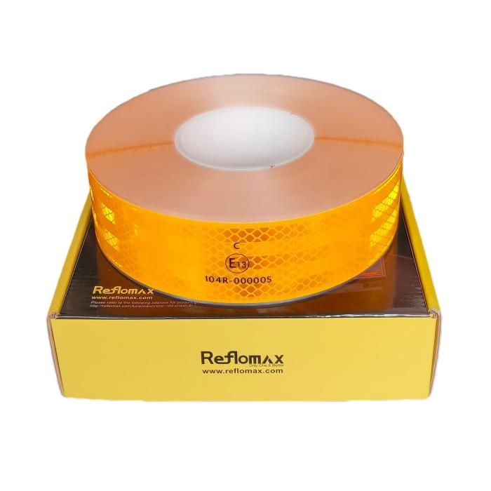 Foto Produk Stiker Pemantul Cahaya Reflomax Glodian™ ECE-104 - Yellow - Kuning dari Teqnom Official Store
