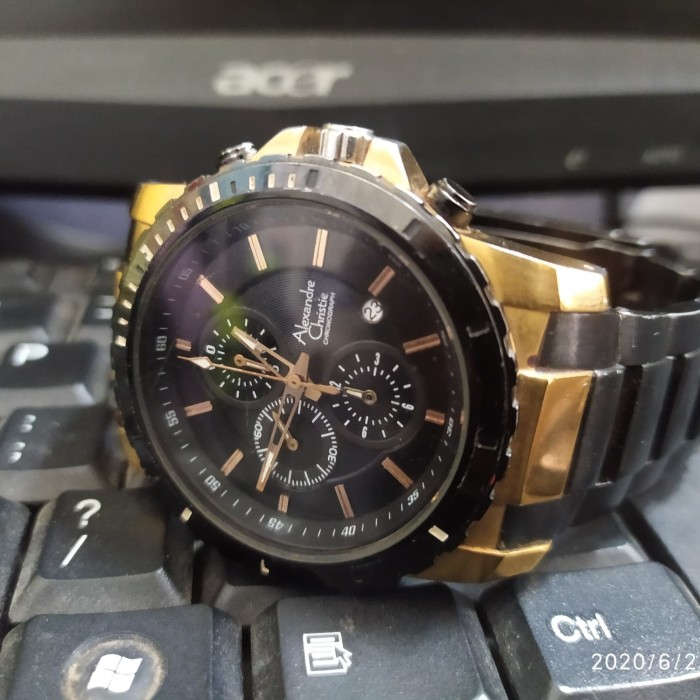 Foto Produk AC Alexandre Christie 6141MC Second No Box dari aligarth_dumai
