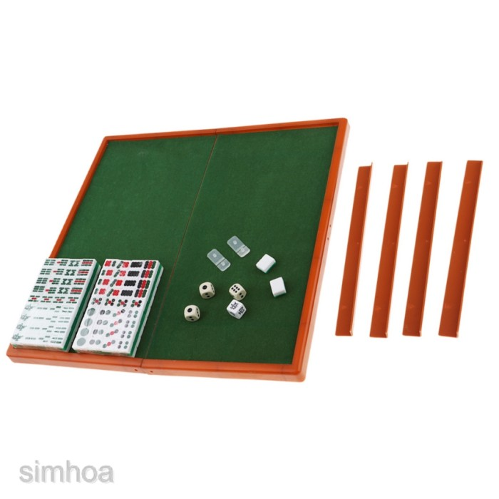 Jual Mahjong Mini Tradisional Cina Untuk Travel Pesta Jakarta Barat Pinzi Store Tokopedia