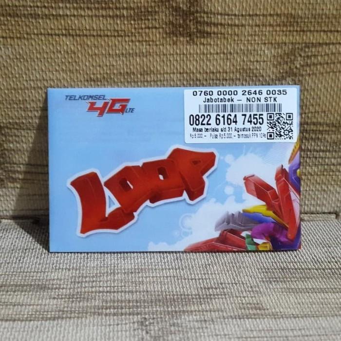 Foto Produk Nomor Cantik LOOP 6164 7455 Telkomsel 4G LTE Exp 31 Agustus 2020 dari idStoreplus