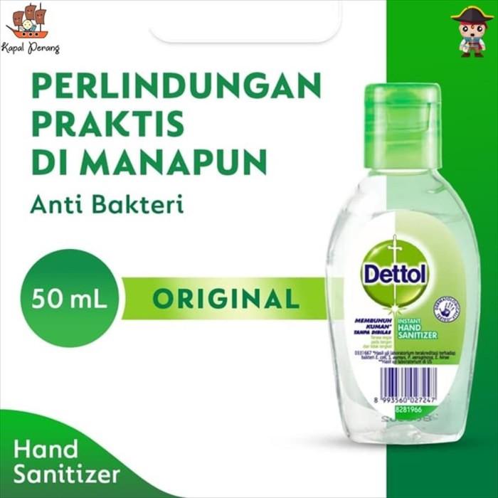Foto Produk Dettol Hand Sanitizer Refresh 50mL dari Kapal Perang