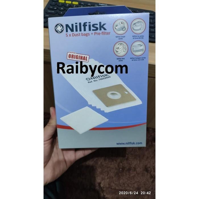 Foto Produk Kantong Debu Dust Bag Pre Filter Nilfisk Vacum Cleaner Neo Coupe & One dari Raibycom