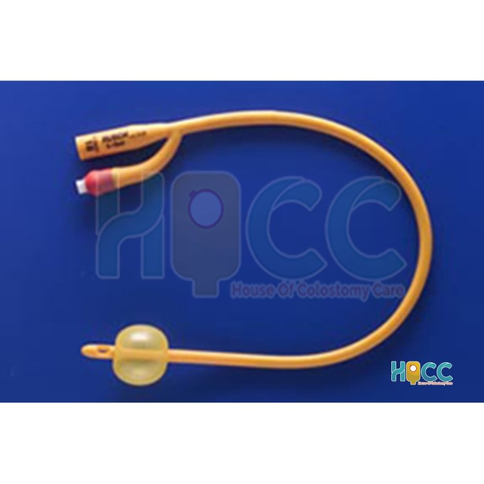 Foto Produk FOLEY CATHETER 2WAY GOLD DEWASA NO.12 S/D NO.26 RUSCH dari House of Colostomy Care