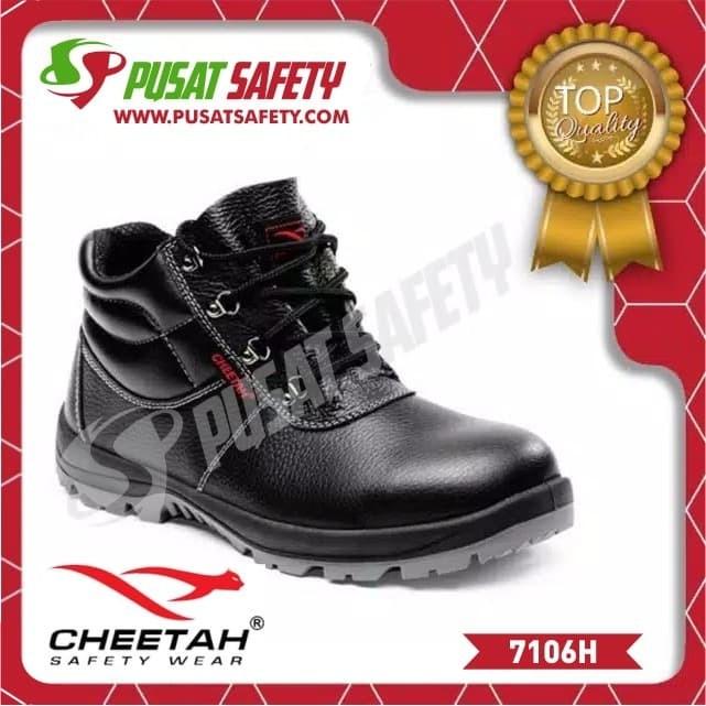 Foto Produk Sepatu Kerja Safety Cheetah 7106H - 6 dari Pusat Safety Online
