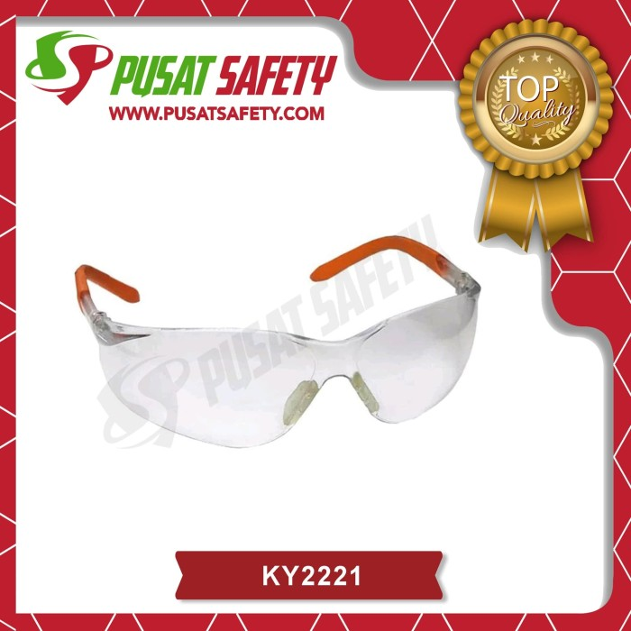 Foto Produk Kacamata Safety Clear Kings KY2221 Original dari Pusat Safety Online