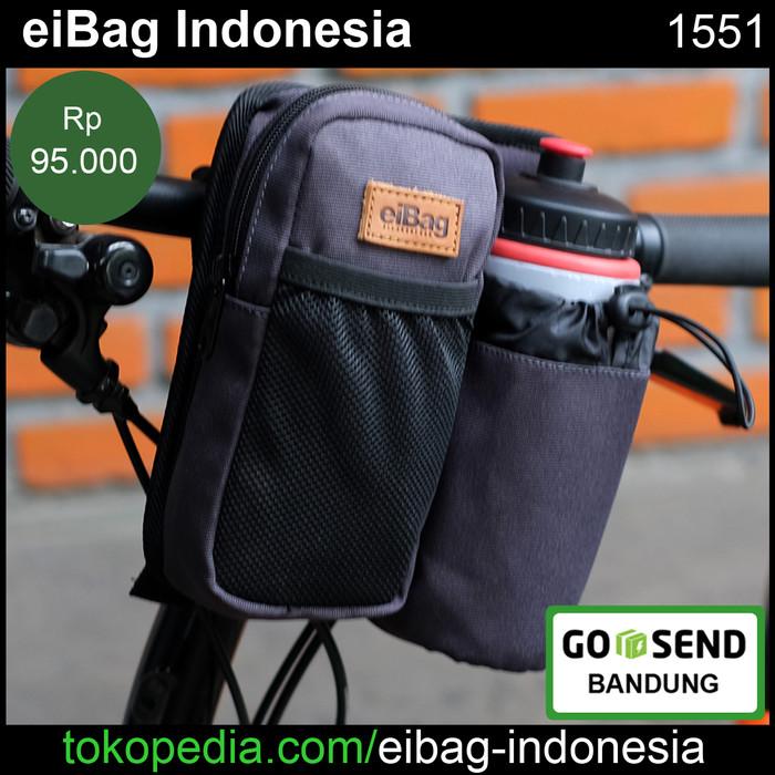 Foto Produk Tas Sepeda Lipat Brompton Dahon Dll Eibag 1551 - Abu-abu dari eibag-indonesia
