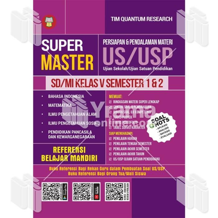 Foto Produk BUKU SUPER MASTER PENDALAMAN MATERI US/USP - SD/MI KELAS V dari Yrama Widya Online