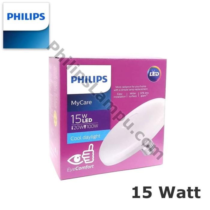 Foto Produk Lampu Philips Led Bulb Ceiling 15 Watt Led UFO - HANYA PUTIH - HANYA PUTIH dari philipslampu