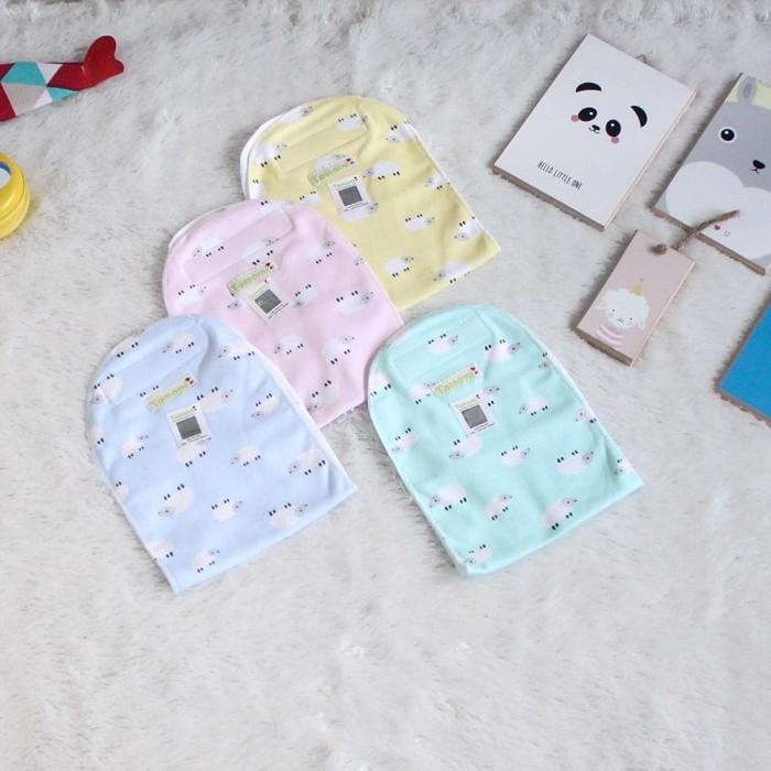 Foto Produk Gurita Bayi Instan Motif Domba - Biru Muda dari Tomomi Baby Wear