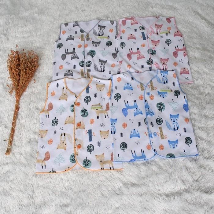 Foto Produk Neci Kutung Motif Fox - Merah Muda dari Tomomi Baby Wear