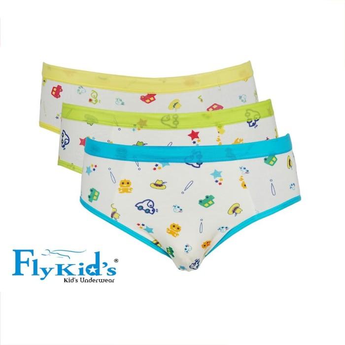Foto Produk Flykids Celana Dalam Mobil Anak Laki (1 Pack 3 Pcs) FK 3106 - M dari Nathalie Kids