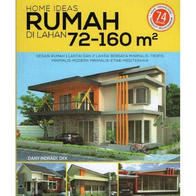 Jual Buku Ide Desain Rumah Home Ideas Lahan 72 160 M2 Jakarta Barat Febriahermashop01 Tokopedia