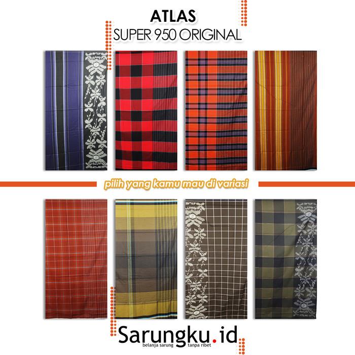 Foto Produk SARUNG ATLAS SUPER 950 ORIGINAL - Cover dari SarungkuID