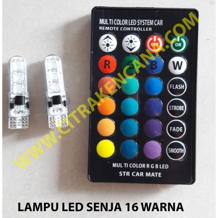 Foto Produk LAMPU LED SENJA 16 WARNA dari CITRA KENCANA