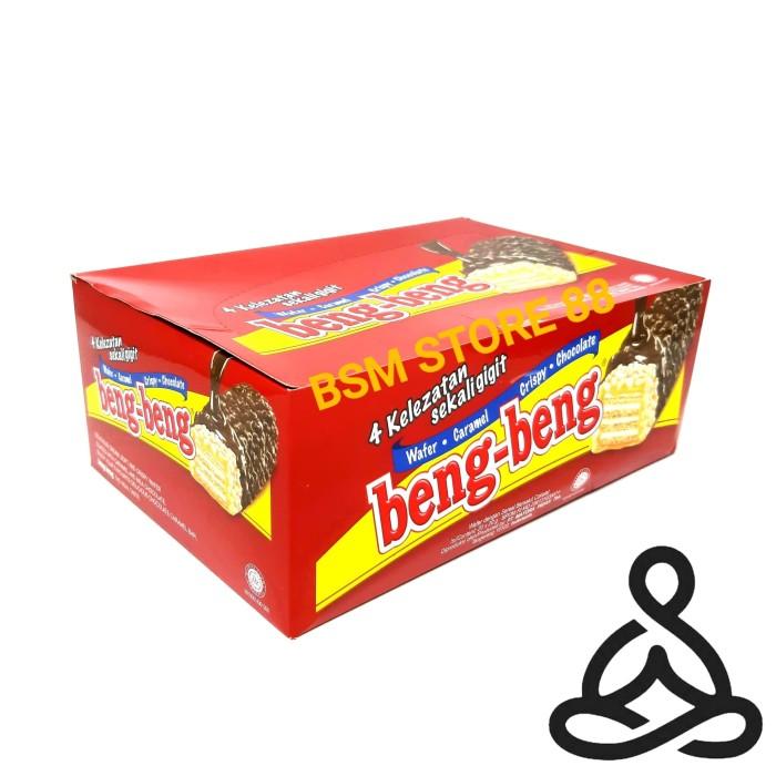 Foto Produk Beng Beng Coklat Wafer / Chocolate (20 Pcs) dari BSM Grocery Store