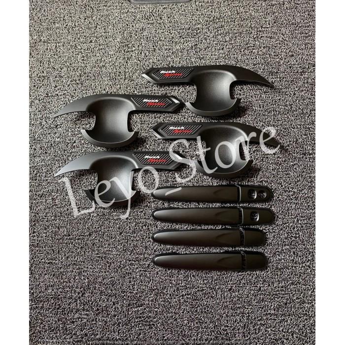 Foto Produk Paket Door handle Mangkok outer All new Rush 2018 hitam dari leyo store