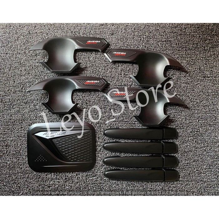 Foto Produk All New Avanza Paket Mangkok outer Handle tank cover hitam 2012 - 2020 dari leyo store