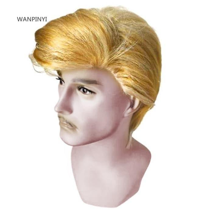 Jual Wig Rambut Palsu Blonde Pendek Justin Bieber Tebal Bagus Berkualitas Kota Surabaya Kusumadestiyanifira Tokopedia