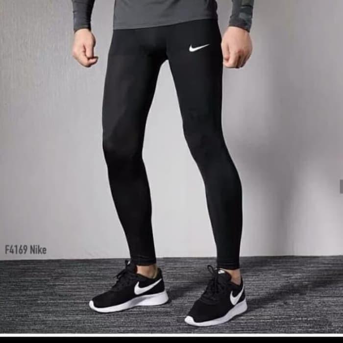 Jual Celana Legging Pria Nike Sport Gym Fitnes Jakarta Selatan Balqis8 Tokopedia