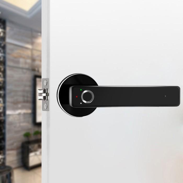 Jual Home T3 Home In Visible Mute Room Door Lock Smart Fingerprint Lock Jakarta Barat Grosir El Tokopedia