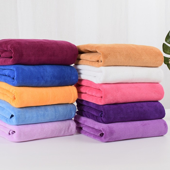 Jual Hot Sale 140x70cm Bath Towels 100 Cotton Towel 12 Colors Avaliable Jakarta Utara Wiming21 Tokopedia