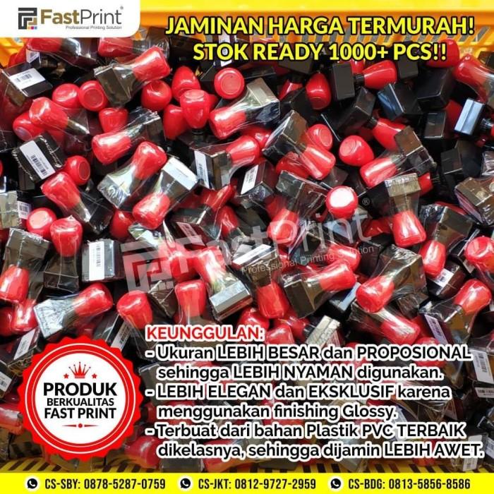 Foto Produk Gagang Stempel Flash Warna Ukuran Kotak 25x25mm dari Fast Print Indonesia