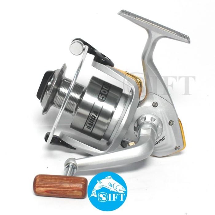 Foto Produk MAGURO BARRA 5000 | Reel spinning mancing ikan tangguh murah dari IFT Merchandise