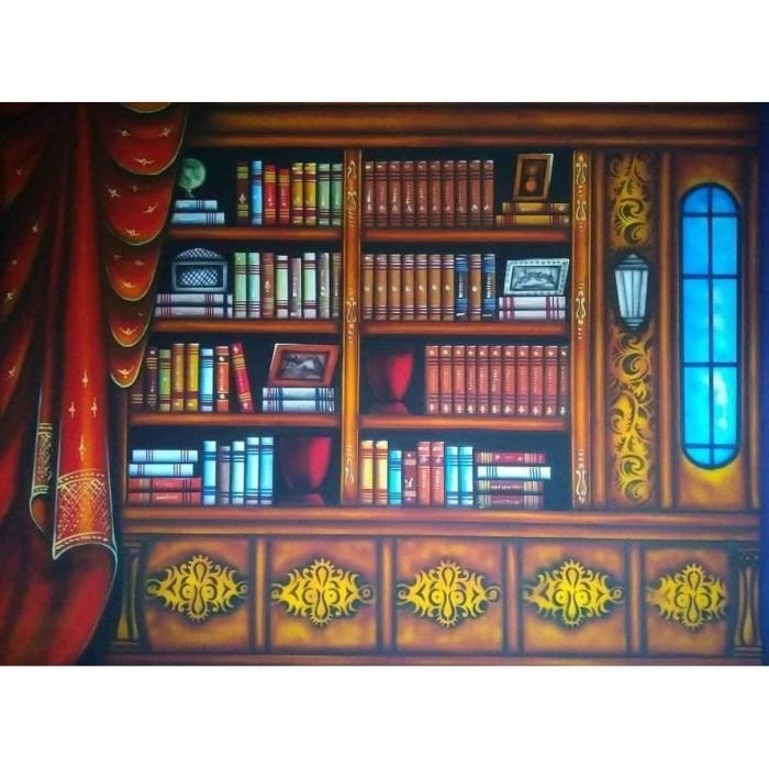 Foto Produk Background rak buku terlaris dari Grosir Aksesoris Kamera