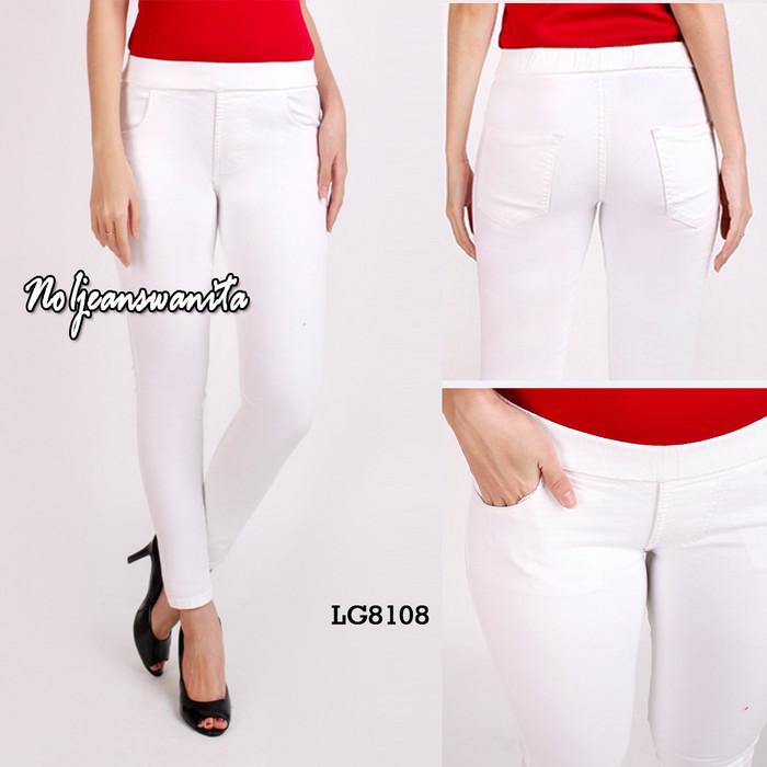 Jual Celana Legging Jeans Wanita Legging Jeans Wanita Celana Wanita Putih 28 Jakarta Pusat No1 Jeans Wanita Tokopedia