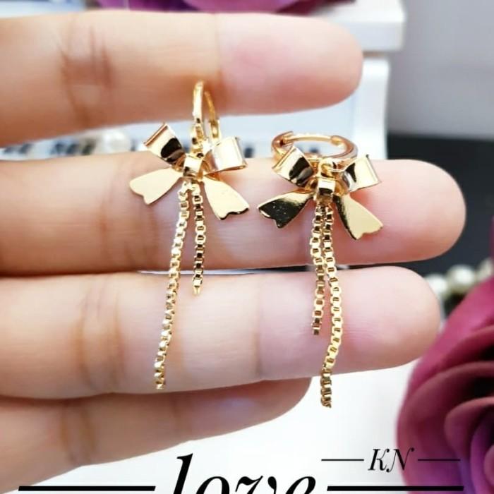 Jual xuping anting lapis emas 24k 25c44 - Kota Palembang ...