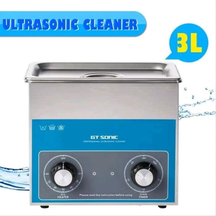 Foto Produk Ultrasonic Cleaner GT Sonic 3L Pembersih Ultrasonik Timer Sterilizer dari HRDIK