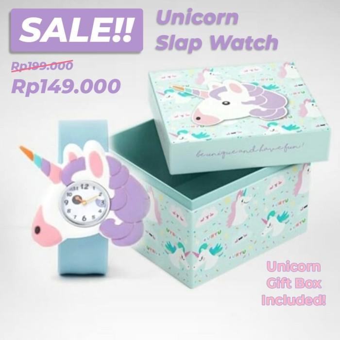 jual unicorn jam tangan anak remaja cute dan stylish